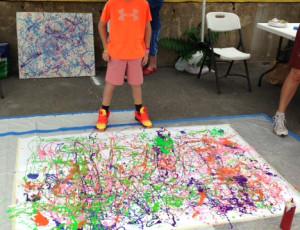 Pollock at the LIC Flea